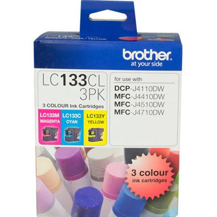 Brother LC3317 CMY Colour Pack Ink Cartridges