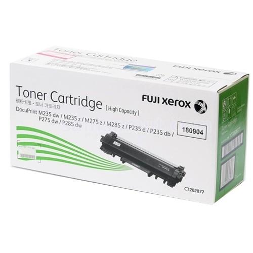 Fuji Xerox CT202877 Black Toner Cartridge (Genuine)