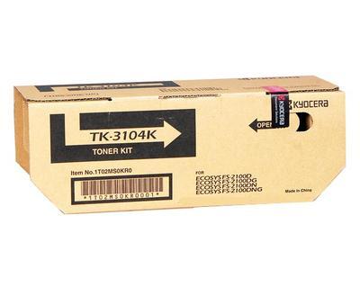 Kyocera TK-3104 Genuine Black [12 5K] Toner Kit