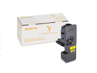 KYOCERA TONER KIT TK-5224Y - YELLOW (VALUE) FOR ECOSYS M5521/P5021 (1200 A4 PAGES)