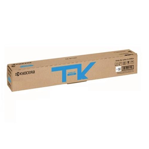 Kyocera TK-8119C Genuine Cyan [6K Page] Toner Kit