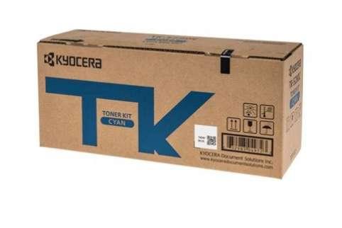 Kyocera TK-5274C Genuine Cyan [6K Page] Toner Cartridge